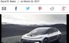 外媒:贾跃亭投资FF汽车停止在美建第二家工厂
