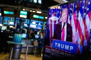 特朗普威胁称将关闭政府令美股承压  美股收低,道指下滑0.4%