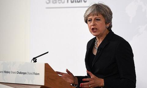 英国首相梅提出两年过渡期的方案后,英镑兑美元强力拉升