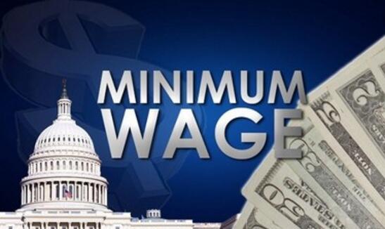 美国有18个州和将近24个市政府从元旦起提高最低工资标准