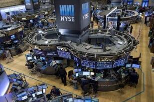 美股周三收跌,道指一度下跌超过300点