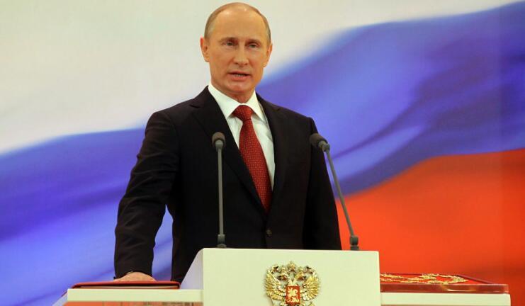 总统普京7日将在莫斯科克里姆林宫举行盛大的总统就职典礼