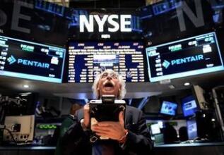美股新闻:美股小幅收高 标普500指数收涨9.21点 金融与工业板块领涨
