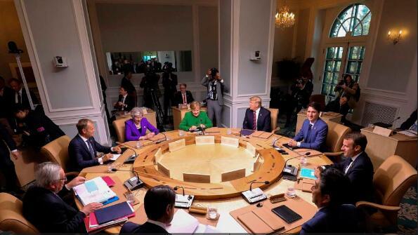 七国集团峰会9日闭幕 G7集团内部分歧加深