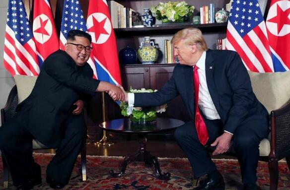 """""""金特会""""在新加坡登场 全球关注特朗普与金正恩会谈成果"""