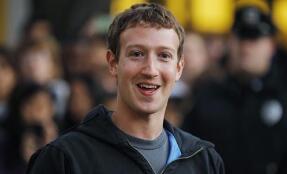 Facebook创始人兼首席执行官马克·扎克伯格现在的身价创历史新高