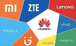 中国的一线智能手机厂商持续扩张市场份额 二三线手机正逐渐没落