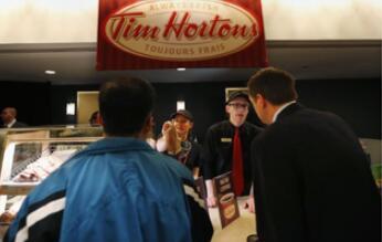 加拿大最大咖啡连锁店蒂姆霍顿将在中国开1500家门店