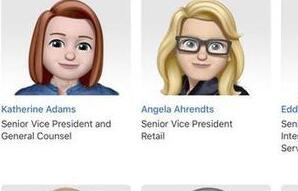 为了庆祝周二的世界表情符号日 苹果展示了为所有主要高管设计的Memoji卡通人物