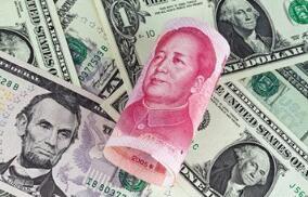 离岸人民币兑美元快速抹去涨幅,现基本持平报6.7603