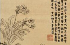 清 金农《 花卉册 》欣赏