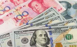 美元面临闪崩风险,人民币中间价报6.8488