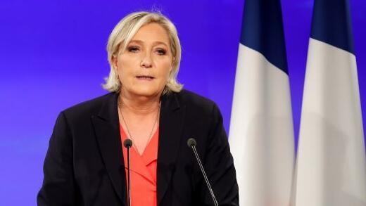 法国极右翼在欧盟议会选举投票中超越马克龙