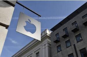 苹果股价周五下跌2.6%   从10月份的纪录下跌超过28%