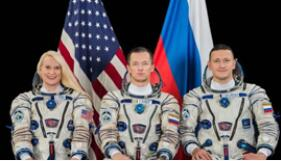 NASA宇航员最后一次搭俄航天器前往国际空间站